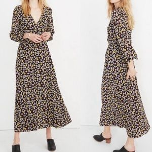 Madewell French Floral Maxi Dress